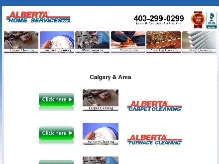 Alberta Carpet Cleaning (403-668-8145) - Website thumbnail - http://www.AlbertaHomeServices.com