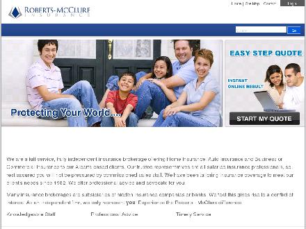 Roberts-McClure Insurance Services Ltd (780-439-4357) - Onglet de site Web - http://www.robertsmcclure.com