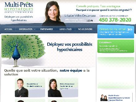 Multi-Pr&ecirc;ts Hypoth&egrave;ques Equipe M&eacute;line Descarreaux (450-378-2020) - Onglet de site Web - http://www.lhypotheque.com