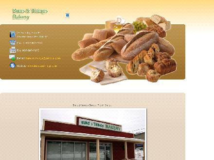 Buns & Things Bakery (902-892-2600) - Onglet de site Web - http://www.bunsandthings.com