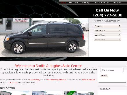Smith and Hughes Enterprises (204-777-5000) - Onglet de site Web - http://www.smithandhughes.com