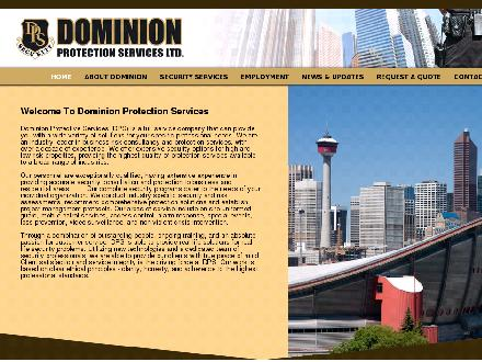 Dominion Protection Services Ltd (403-717-1732) - Onglet de site Web - http://dominionprotection.ca