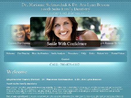 Tooth Suite Family Dentistry (780-874-1215) - Website thumbnail - http://www.toothsuitefamilydentistry.com