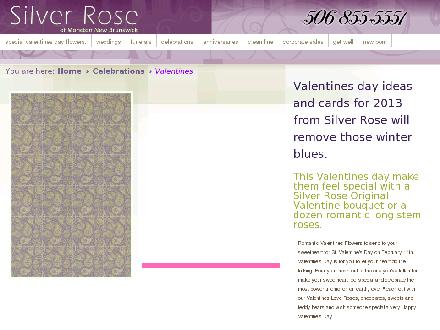 Silver Rose Emotions (506-855-5551) - Website thumbnail - http://www.silverrose.ca