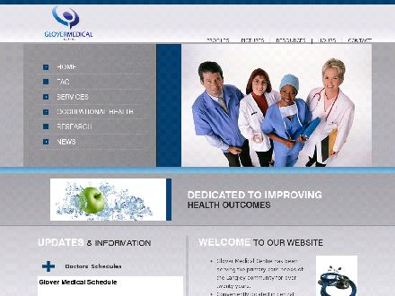 Glover Medical Clinic Inc (604-530-3233) - Website thumbnail - http://www.glovermedical.com