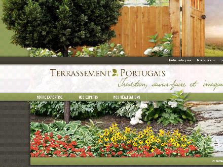 Terrassement Portugais Inc (581-703-0876) - Onglet de site Web - http://www.terrassementportugais.ca/