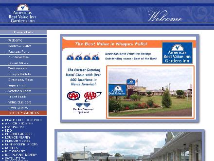 Americas Best Value Gardens Inn (1-888-292-5096) - Website thumbnail - http://www.bestvalueinnniagara.com
