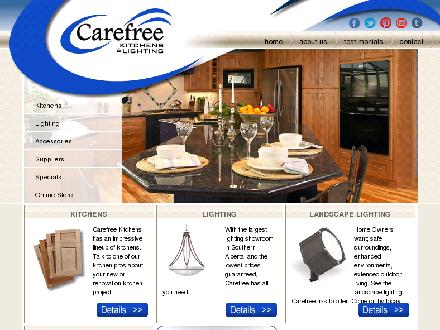 Carefree Kitchens & Lighting (403-332-6400) - Onglet de site Web - http://www.carefreekitchens.ca