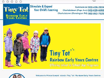 Tiny Tot Child Care Centre (902-892-7525) - Website thumbnail - http://tinytotearlyyearscentres.ca/