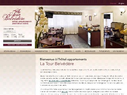 La Tour Belvédère Hôtel Appartments (514-935-9052) - Website thumbnail - http://www.tourbelvedere.com