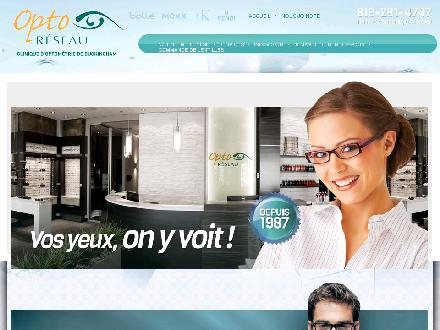 Clinique d'optométrie de Buckingham (819-281-4747) - Onglet de site Web - http://www.optobuck.ca