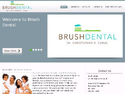 Brush Dental (780-467-6880) - Onglet de site Web - http://www.yoursherwoodparkdentist.com