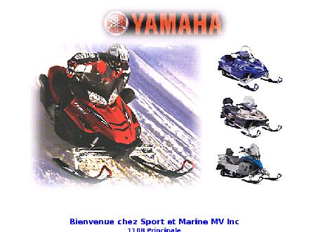Sport &amp; Marine M V Inc (819-424-3433) - Onglet de site Web - http://www.st-donat.com/mv/