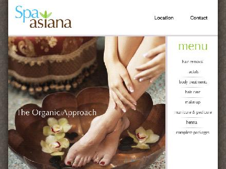 Spa Asiana Inc (519-936-1822) - Website thumbnail - http://www.spaasiana.com