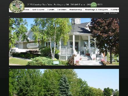 Millcroft Golf Club (905-332-5111) - Website thumbnail - http://www.millcroftgolfclub.com