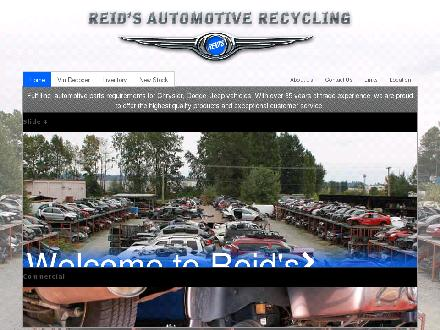 Reid's Auto Wrecking Ltd (604-521-1818) - Website thumbnail - http://www.reidsautowrecking.com