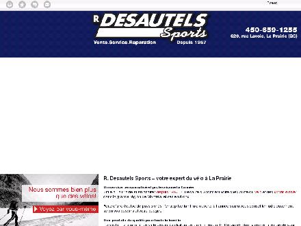 Desautels R Sports Inc (450-659-1255) - Onglet de site Web - http://desautelssport.com/