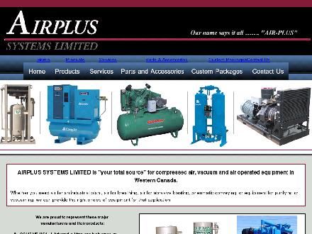 Airplus Systems Ltd (604-882-3741) - Onglet de site Web - http://www.airplus-systems.ca