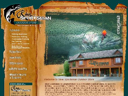 River Sportsman Ltd (250-286-1017) - Onglet de site Web - http://www.riversportsman.com