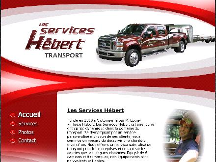 Services H&eacute;bert (819-357-4832) - Onglet de site Web - http://www.serviceshebert.ca/