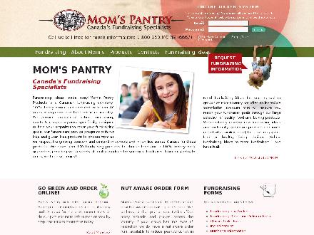 Mom's Pantry Products Ltd (204-954-2060) - Website thumbnail - http://www.momspantry.ca