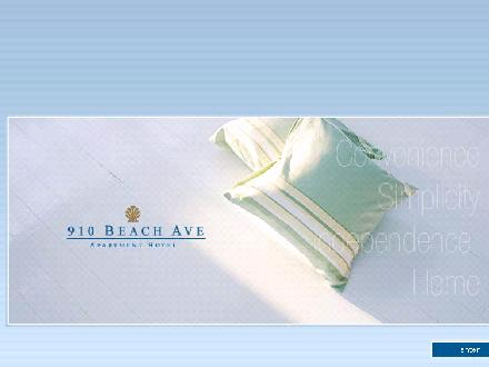 910 Beach Ave Apartment Hotel (604-609-5100) - Website thumbnail - http://www.910beach.com