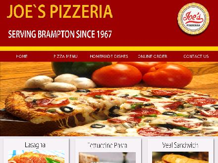 Joe's Pizzeria And Spaghetti House (905-459-8687) - Onglet de site Web - http://www.joespizzeriabrampton.com