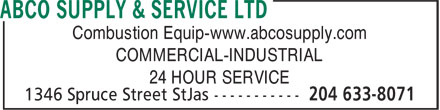 Abco supply service ltd winnipeg mb 1346 spruce st for Abco salon supplies