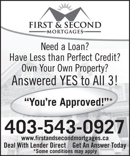 1st 2nd mortgages 4203 17 a st se calgary ab for Need loan to buy land