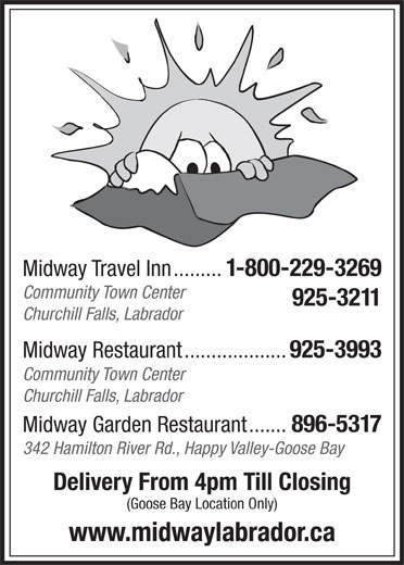 Midway Travel Inn (709-925-3211) - Display Ad -