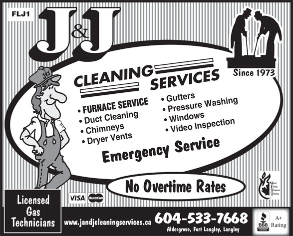 J&J Cleaning Services | Canpages