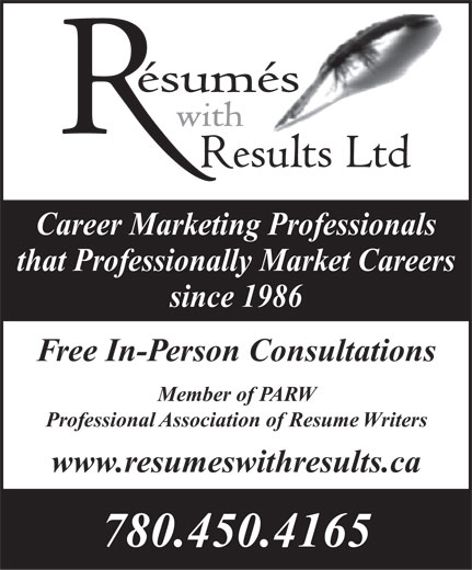resumes with results ltd opening hours ab