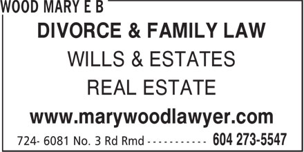 Wood Mary E B (6042735547) - Display Ad -