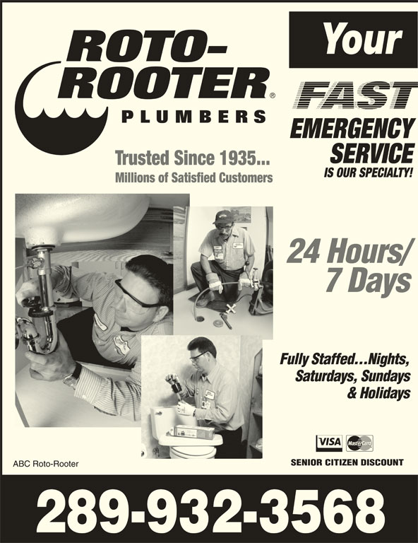 Roto Rooter Plumbing Amp Drain Service St Catharines On