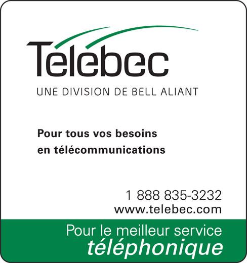 Télébec (8888353232) - Annonce illustrée======= -