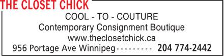 Ads Closet Chick, The