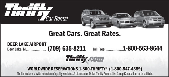 National Car Rental Deer Lake Nl