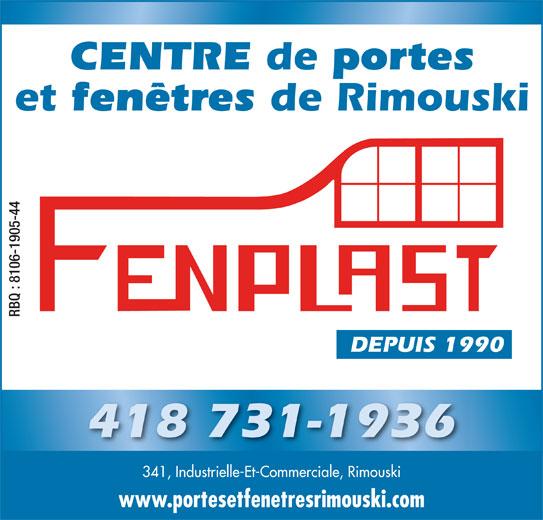 Centre de portes et fen tres de rimouski inc rimouski for Desembuage de fenetre