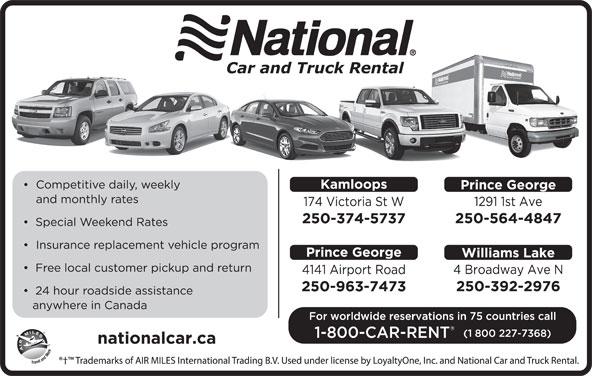 National Car Rental Emerald Telephone