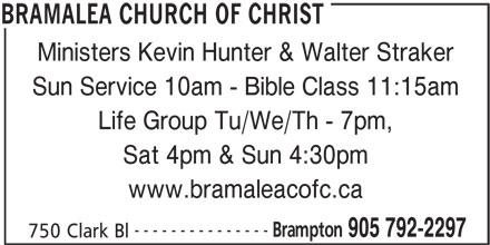Brampton christian church
