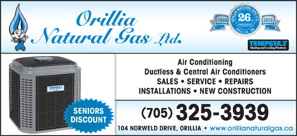 Orillia Natural Gas Ltd Orillia On 104 Norweld Dr