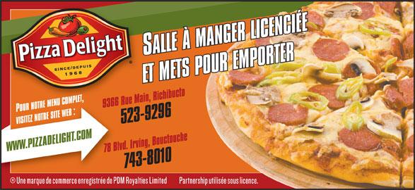 Pizza Delight (5067438010) - Annonce illustrée======= -