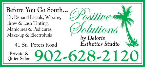 Positive Solutions By Deloris Esthetics Studio (9026282120) - Annonce illustrée======= -