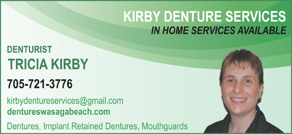 Kirby Denture Services (7057213776) - Display Ad -
