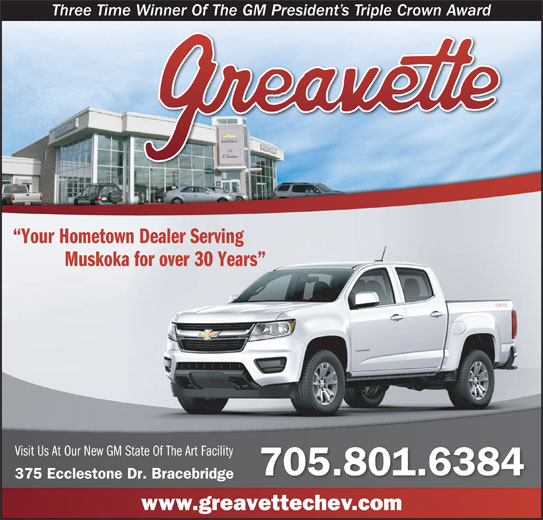 Greavette Chevrolet Buick Cadillac GMC Ltd