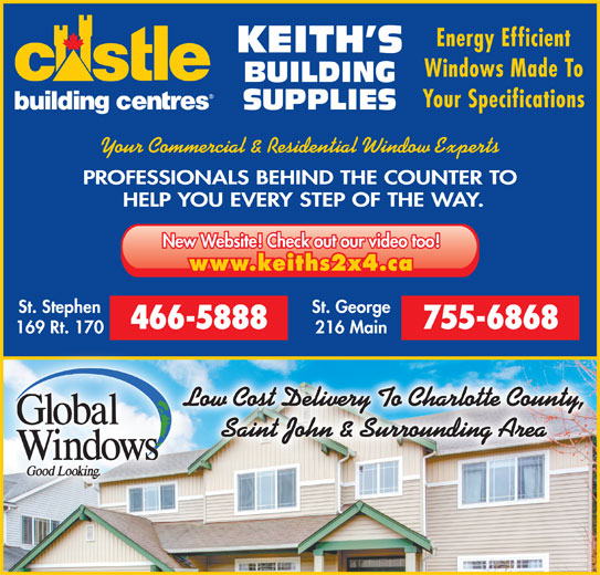 Keith S Building Supplies Dufferin Charlotte Co Nb
