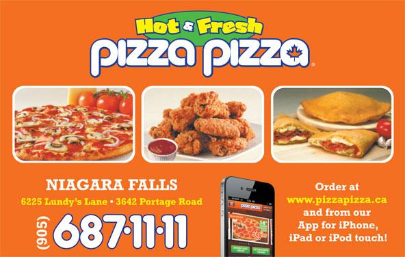 Pizza Pizza (905-687-1111) - Annonce illustrée======= -