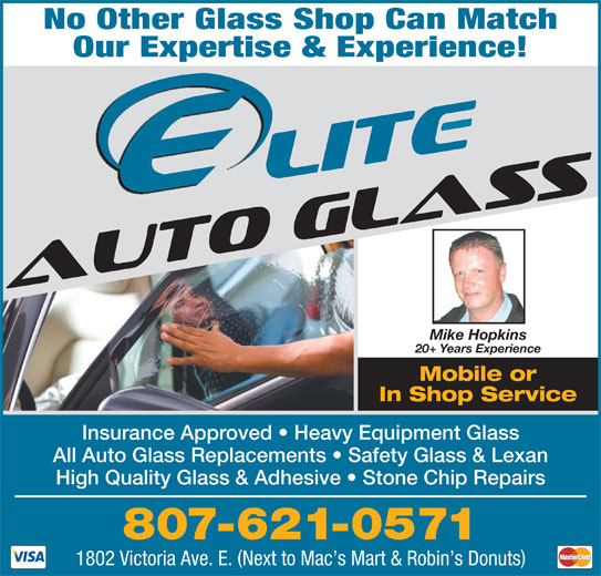 Elite Auto Glass Thunder Bay