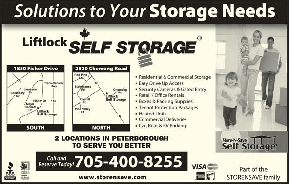 Store N Save (705-750-4555) - Display Ad -