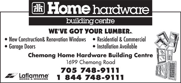 Chemong Home Hardware Hours